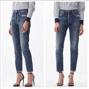"🆕🦋 COH Liya 11"" High Rise Classic Fit Crop Jeans"